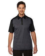 North End 88676 Men Symmetry UTK cool.logik Coffee Performance Polo at GotApparel