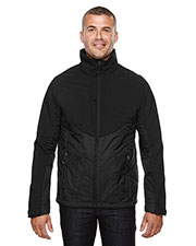 North End 88679 Men's Innovate Insulated Hybrid Soft Shell Jacket at GotApparel