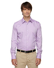 North End 88689 Men Refine Wrinkle Free TwoPly 80's Cotton Royal Oxford Dobby Taped Shirt at GotApparel