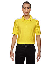 North End 88691 Men Reflex Utk Cool.Logik  Performance Embossed Print Polo at GotApparel