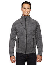 North End 88697 Men Flux Melange Bonded Fleece Jacket at GotApparel