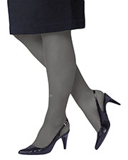 Just My Size 88800 Women Smooth Finish Regular Reinforced Toe Panty Hose 2 Pair Pack at GotApparel