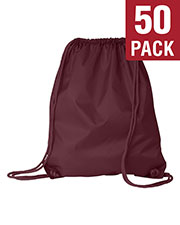 Liberty Bags 8882 Unisex Large Drawstring Backpack 50-Pack at GotApparel
