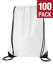 Liberty Bags 8886 Unisex Value Drawstring Backpack 100-Pack at GotApparel