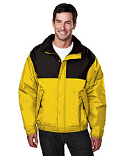 Tri-Mountain 8900 Men Summit Colorblock Nylon Jacket With Fleece Lining at GotApparel
