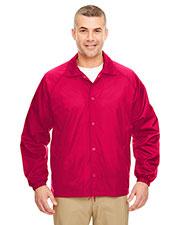 Ultraclub 8944 Men Nylon Coaches Jacket at GotApparel