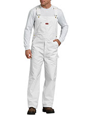 Dickies 8953WH Unisex Painters Bib Overall at GotApparel