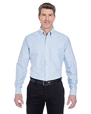 UltraClub 8970 Men Classic Wrinkle Free LongSleeve Oxford at GotApparel