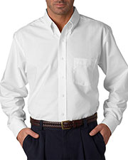 Ultraclub 8970T Men Tall Classic Wrinklefree Longsleeve Oxford at GotApparel