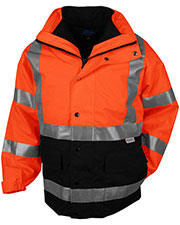 Tri-Mountain 8980 Men's Industry Heavyweight Waterproof Safety Parka at GotApparel