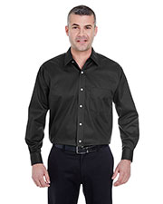 UltraClub 8991 Men Whisper Elite Twill at GotApparel