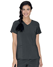 Urbane 9015 Women Motivate V-Neck Top at GotApparel