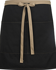 Edwards 9027 Women Half Bistro Apron-Color Blocked at GotApparel