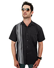 Tri-Mountain 909 Men Cobra Short Sleeve Twill Camp Shirt at GotApparel