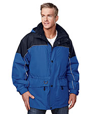Tri-Mountain 9100 Men Colorado Heavyweight Shell Windproof Parka at GotApparel