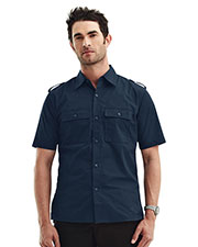 TMR 918 Men Spoiler Easy Care Slim Fit Shirt at GotApparel