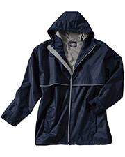 Charles River Apparel 9199 Men Englander Rain Jacket at GotApparel