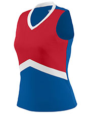 Augusta 9200 Women Sleeveless Cheerflex Cheer Shell V-Neck at GotApparel
