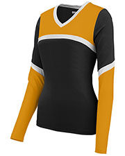 Augusta 9211 Girls Rise Up Cheer Shell V-Neck at GotApparel