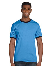 Anvil 923 Men Heavyweight Ringer T at GotApparel