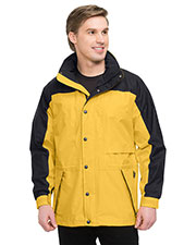 Tri-Mountain 9300 Men Climax Colorblock Nylon Parka With Mesh Lining at GotApparel