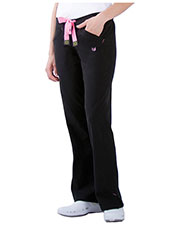 Urbane 9303 Women Zip Pocket Stretch Pant at GotApparel