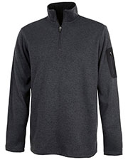 Charles River Apparel 9312 Men Heathered Fleece Pullover at GotApparel
