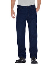 Dickies 9393 Unisex Regular Straight Fit 5-Pocket Denim Jean Pant at GotApparel