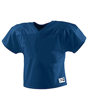 Augusta 9501 Boys TwoADay Mesh Football Short Sleeve V-Neck Jersey at GotApparel