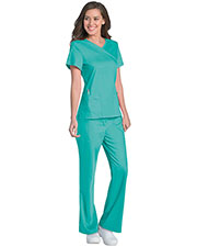 Urbane 9577 Women Sophie Crossover Tunic at GotApparel