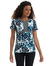 Urbane 9595 Women Notched Empire Tunic at GotApparel
