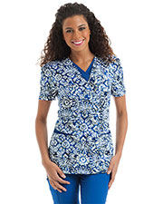 Urbane 9596 Women Layered V-Neck Tunic at GotApparel