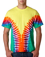 Gildan Tie-Dyes 96 Men Tie-Dye Adult Multi-Color V Tee at GotApparel