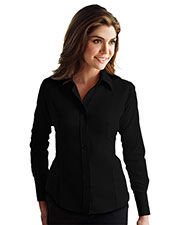 TRI-MOUNTAIN GOLD 972 Women Brooke Non Iron Twill Long Sleeve Dress Shirt at GotApparel