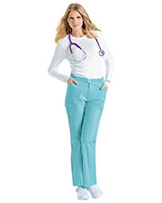 Urbane 9732 Women Buckle Front Pant at GotApparel
