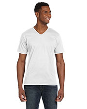 Anvil 982 Men Fashion Fit V-Neck T-Shirt at GotApparel