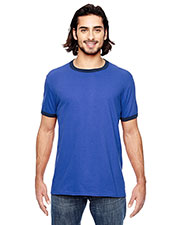 Anvil 988AN Adult Lightweight Ringer T-Shirt at GotApparel