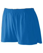 Augusta 988 Girl's Trim Fit Jersey Short at GotApparel