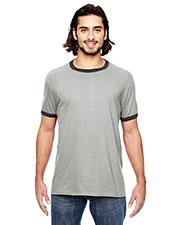 Anvil 988AN Adult Lightweight Ringer T-Shirt at GotApparel