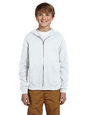 Jerzees 993B Boys 8 oz., 50/50 NuBlend Fleece Full Zip Hood at GotApparel