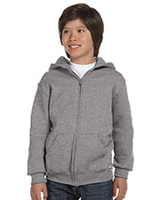 Russell Athletic 997HBB Boys DriPower Fleece Full Zip Hood at GotApparel