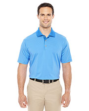 Adidas A119 Men climalite Classic Stripe short sleeve Polo at GotApparel
