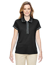 Adidas A126 Women's Golf Piped Fashion Polo at GotApparel