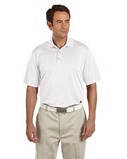 Adidas Golf A161 Men's climalite® Textured Short-Sleeve Polo at GotApparel