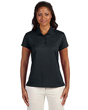 Adidas A181 Women's climacool® Diagonal Textured Polo at GotApparel