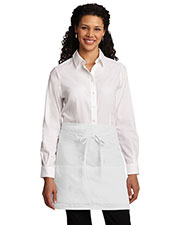 Port Authority A706 Women Easy Care Half Bistro Apron with Stain Release at GotApparel
