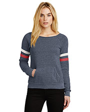 Custom Embroidered Alternative Apparel AA9583 Women 6.49 oz Maniac Sport Eco Fleece Sweatshirt at GotApparel