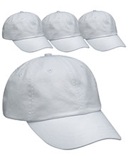 Adams AD969 Unisex Optimum Pigt Dyed-Cap 4-Pack at GotApparel