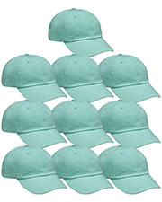 Adams AD969 Unisex Optimum Pigt Dyed-Cap 10-Pack at GotApparel