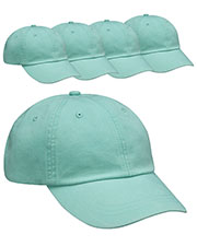 Adams AD969 Unisex Optimum Pigt Dyed-Cap 5-Pack at GotApparel